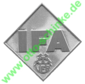 Frontemblem IFA 90 mm