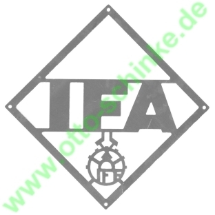 Frontemblem IFA 268 mm