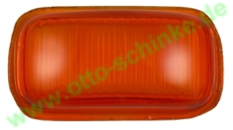 Lampenglas 60 x 30 mm orange